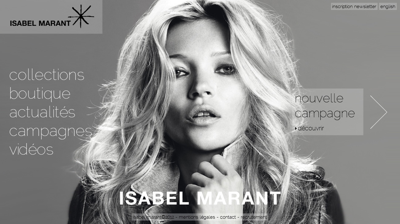 isabel marant website